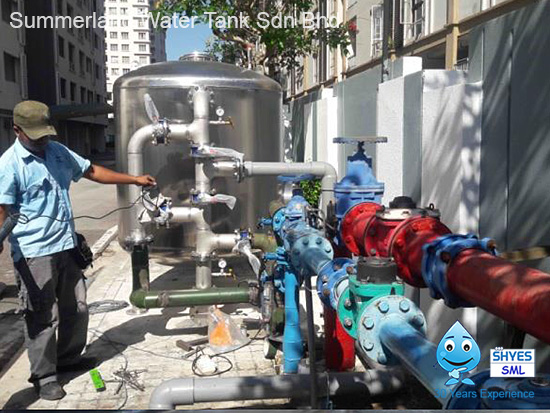 Centralized Water Filter System