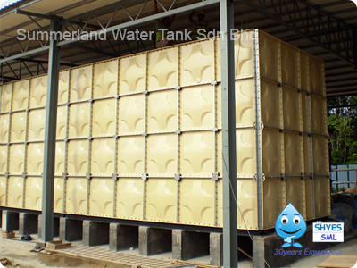 Sectional Panel Fibreglass Reinforced Plastics Tank (FRP Tank)