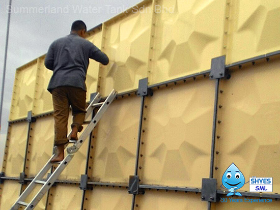 Water Tank Coating Services Malaysia