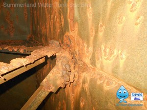Water Tank Corrosion Treatment