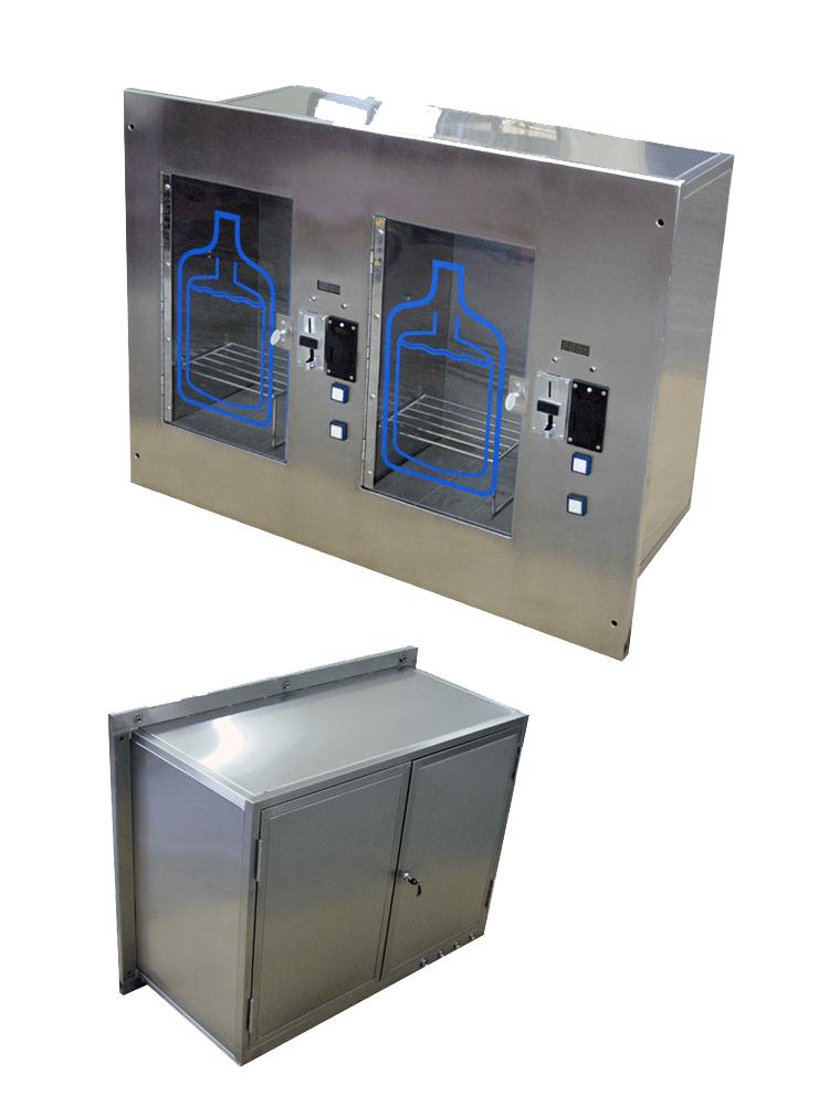 Dual Wall Mounted Water Vending Machine