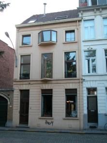 Baudelostraat 71. Foto: Dirk Boncquet, juni 2003.