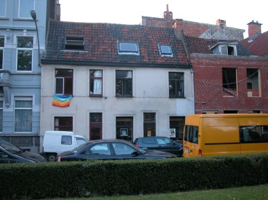 Baudelostraat 79-81. Foto: Dirk Boncquet, juni 2003.