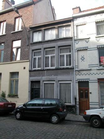 Sint-Katelijnestraat 42. Foto: Dirk Boncquet, juni 2003.