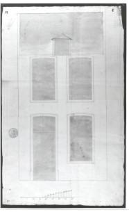 voorgevel vierde kwart achttiende eeuw - SAG R 535/73-11 (1777). Beeld: Stadsarchief Gent, opname: 1995