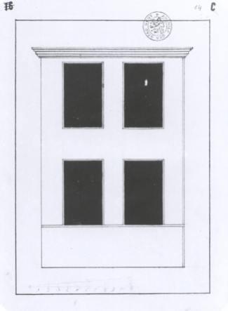 1782 - voorgevel - vierde kwart zeventiende eeuw - SAG 535-285/14 (1782). Beeld: Stadsarchief Gent, opname: 1995