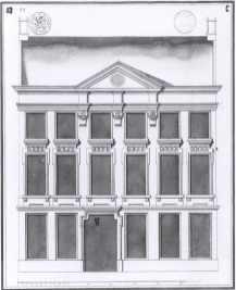 1775 - voorgevel - derde kwart achttiende eeuw - SAG 535-285/11 (1775). Beeld: Stadsarchief Gent, opname: 1995