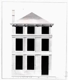 1782 - voorgevel - vierde kwart achttiende eeuw - SAG R535-217/15 (1782). Beeld: Stadsarchief Gent, opname: 1995