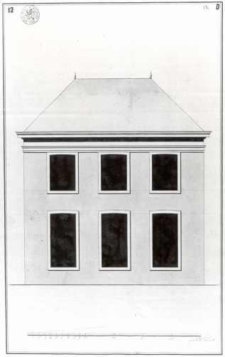 1775 - voorgevel vierde kwart achttiende eeuw - SAG R535-78/3ter (1775). Beeld: Stadsarchief Gent, opname: 1995