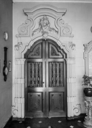 deuromlijsting. Beeld: KIK, opname: 1942