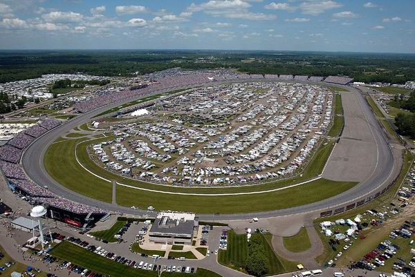 Michigan International Speedway is the venue for the finals of the Progressive Insurance Automotive X Prize