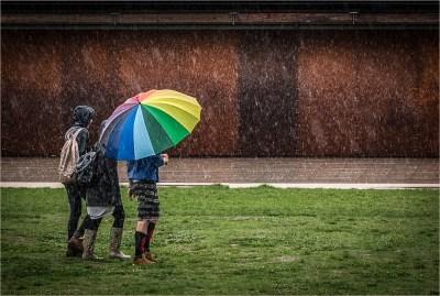 Rainbow in the Rain by Michelle Cirkel