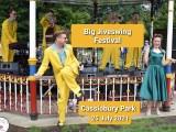 Jive Swing, swing Aces, Cassiobury, musicians, man, woman, Watford,