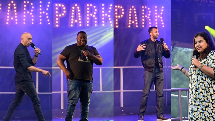 The Laughs were brought to Watford's New 'Stage in the Park'