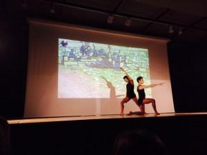 Photography fingerpainting Dancers