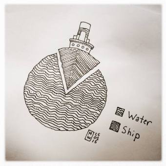 ship vs water
