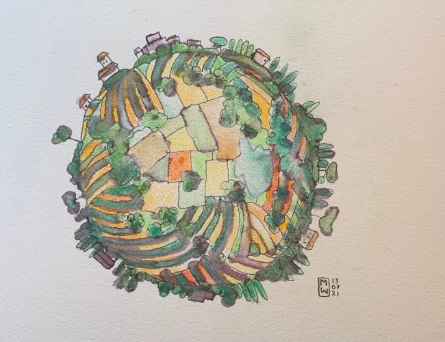 World Sketch by Matthew Watkins