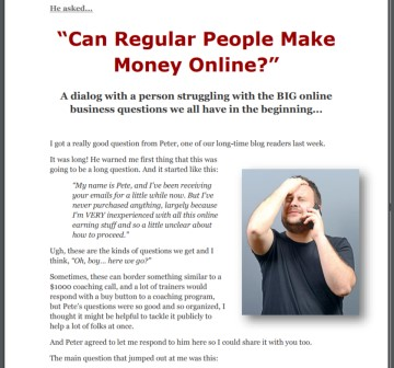 Can Regular People Make Money Online