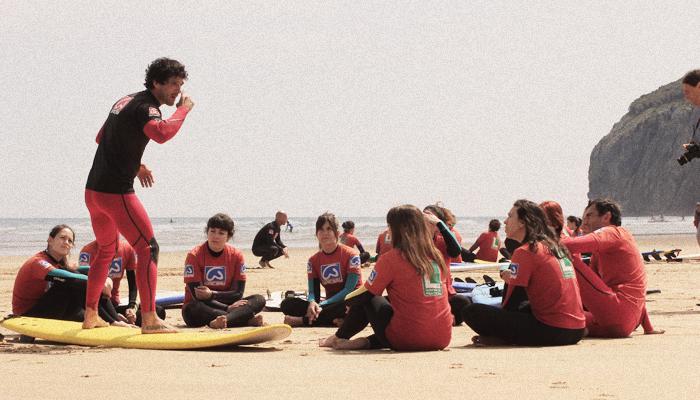 Surf camp adultos