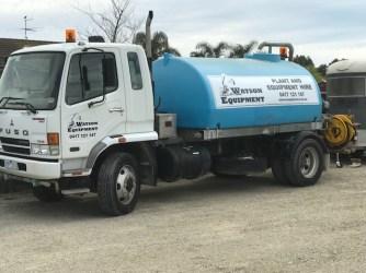 Water Truck Watson Equipment