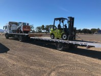 Tilt tray truck and Trailer