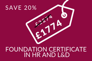 Foundation Certificate in HR and L&D