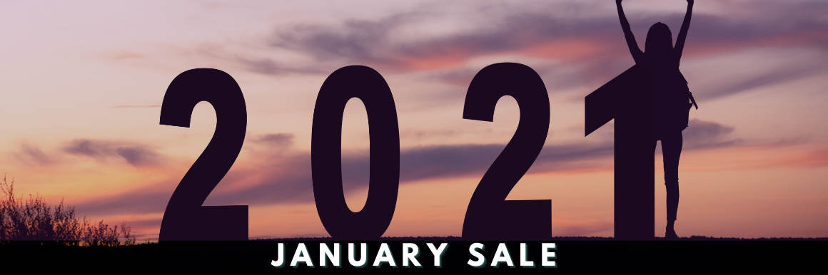 January Sale Slider