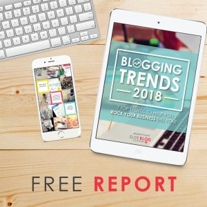 2018 Blogging Trends ebook