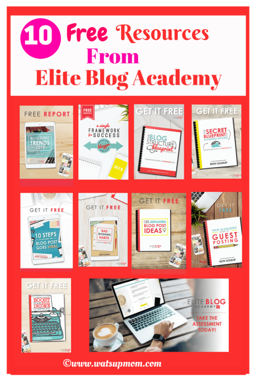 Free blogging resources from elite blog academy eba watsupmom free resources from eba malvernweather Image collections