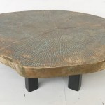 Silver Kind Tree Trunk Coffee Table Galerie Watteeu Recent Added Items European Antiques Decorative