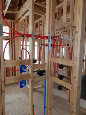 New Home Construction Plumbing Dave Treutelaar Master