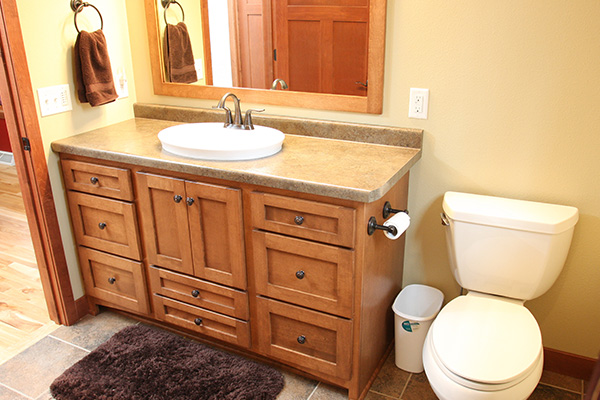 Look! Custom Bathroom cabinets in Marshfield, WI