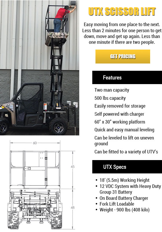 UTX Scissor Lift in Florida