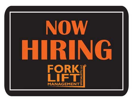 Help Wanted! professional Candidate At Forklift Management Specialists, LLC