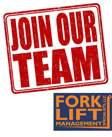 Hiring Now! professional Candidate At Forklift Management Specialists, LLC