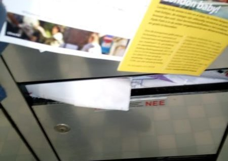 brievenbus vol