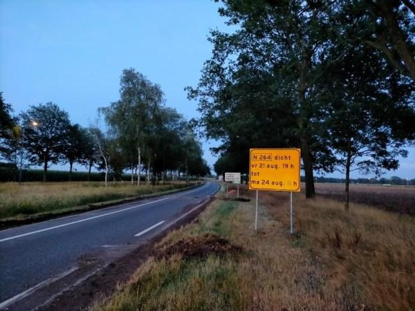 N264 werken aan de weg