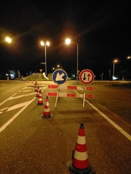 Rotonde in Diesen