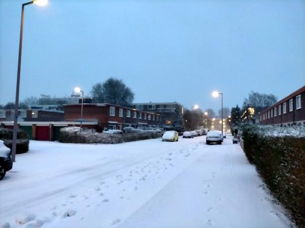 Sneeuw, sneeuw en nog eens sneeuw