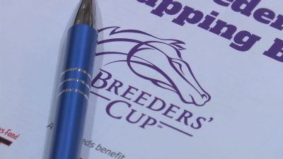 Thousands gear up for Breeders