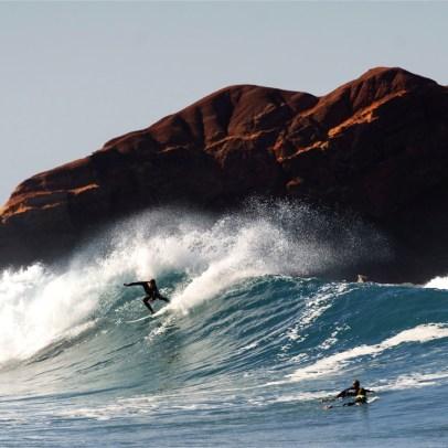 Reefbreak an der Westküste