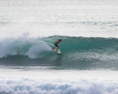 surfing Balangan Surf report