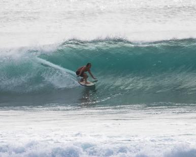 surfing Balangan Surf report