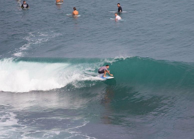 surfing Bingin Dreamland Impossibles
