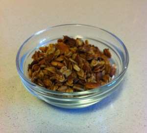Nut-free honey granola