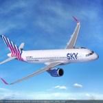 Sky Express anuncia la adquisición de 6 nuevos A320Neos