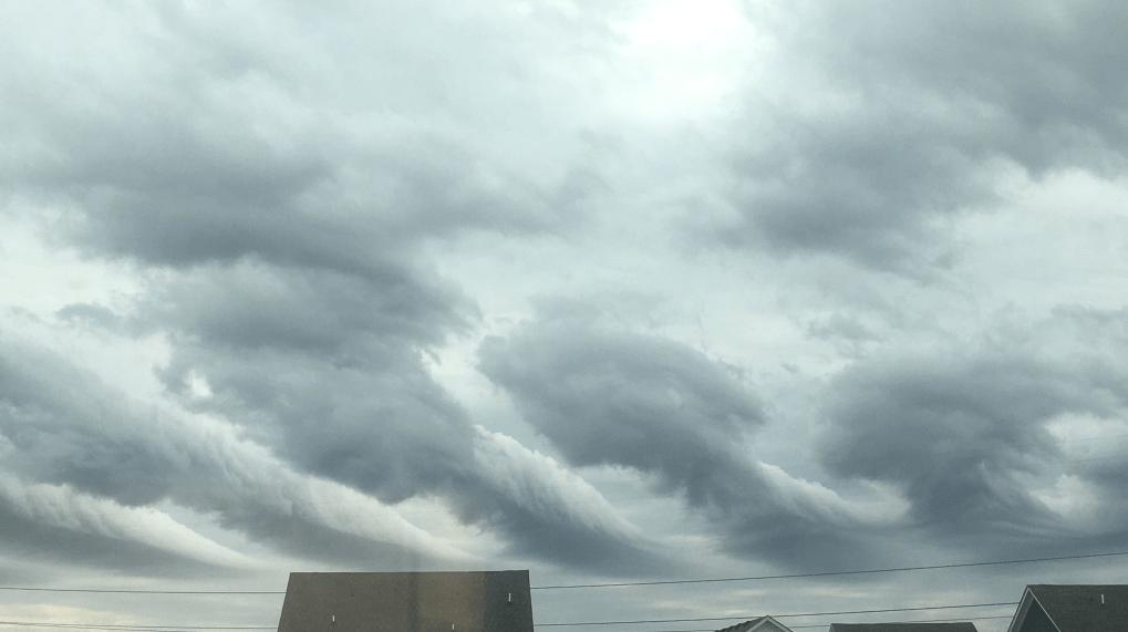 WAVY Photo Meteorologist Ashley Baylor Undulatus Aperatus Clouds_718406