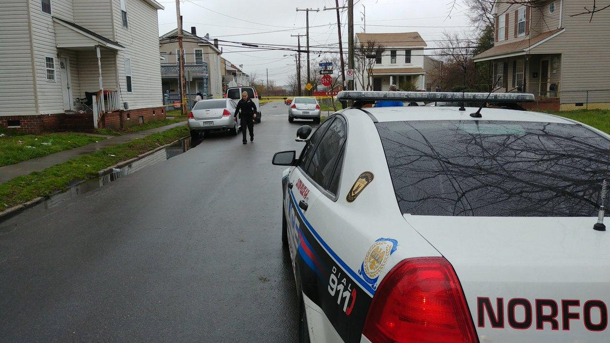 Norfolk C Ave Homicide Scene_720237