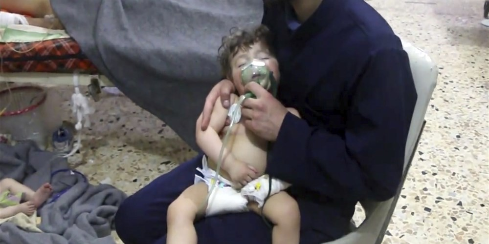 Syrian Chemical Weapons Attack Douma NBC Photo