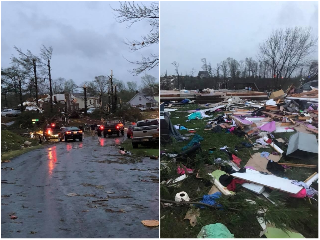 Amherst County Storm Damage